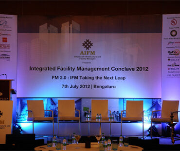 eFACiLiTY was at the Integrated Facility Management Conclave 2012, Bangalore