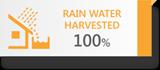 RAIN WATER 100%