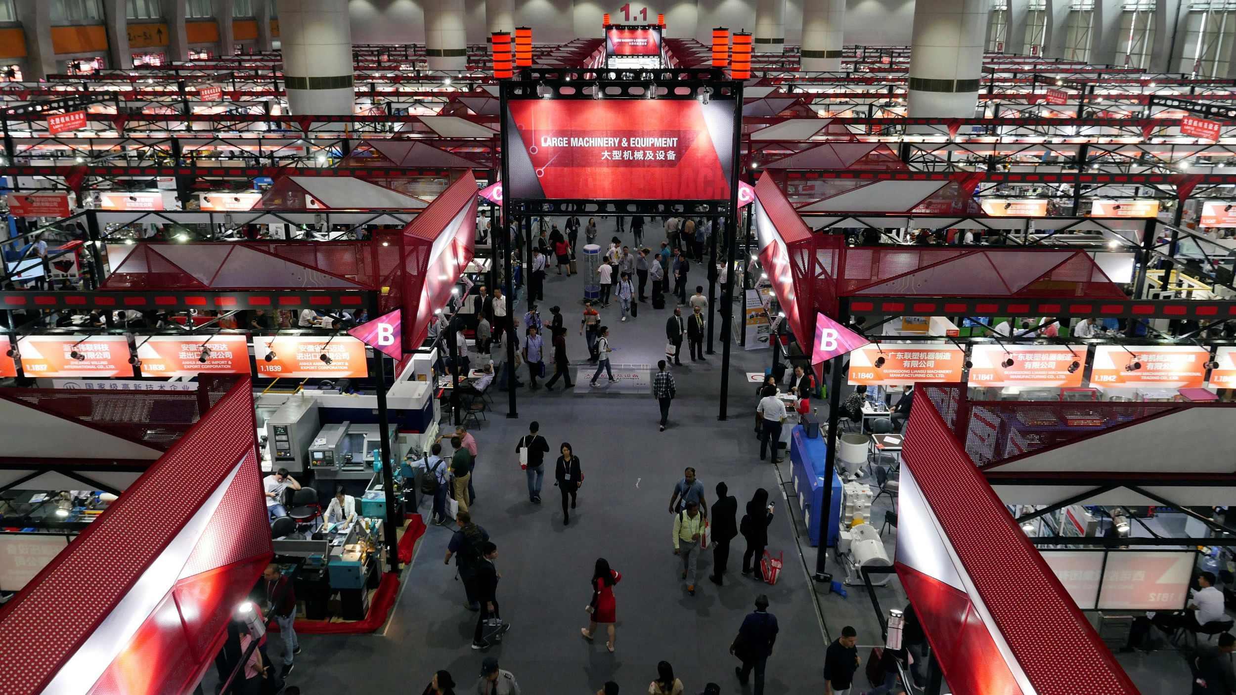 eFACiLiTY® – Facility Management (CAFM / EAM / CMMS) Software at Nanjing International Trade Fair, China