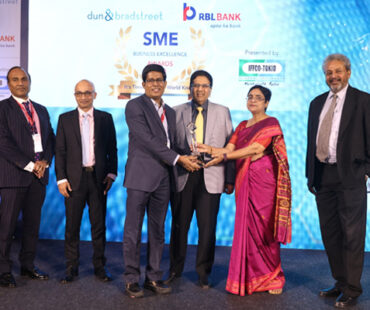 SIERRA ODC: Winner in the Best Green Initiatives category, SME Business Excellence Awards 2018 by the Dun & Bradstreet