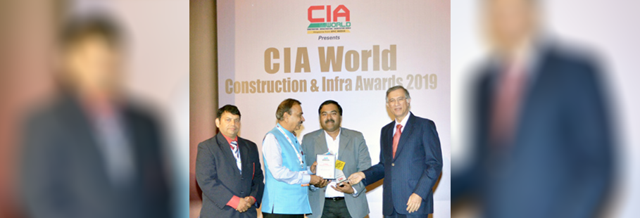 CIA WORLD – Construction and Infra Award for SIERRA ODC