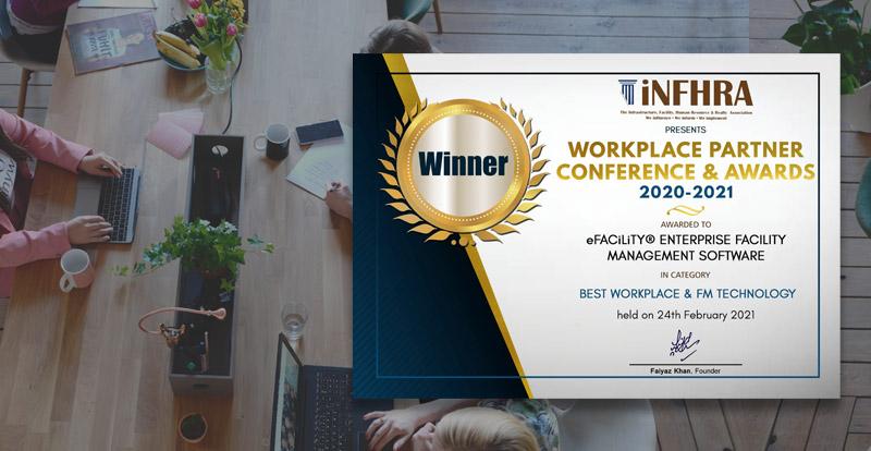 iNFHRA Workplace Partner Awards 2021