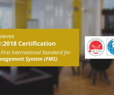 SIERRA becomes one of the first few software companies globally to be ISO 41001:2018 certified